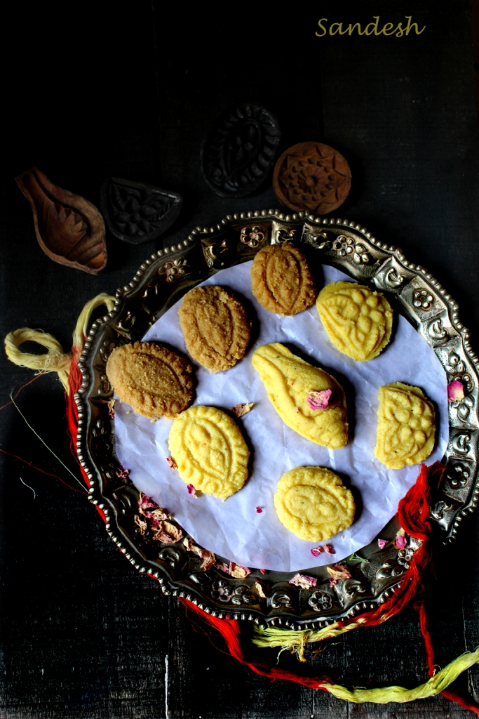 Sondesh with Kesar