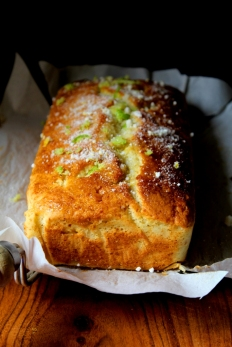 Lime and Lemony Loaf cake
