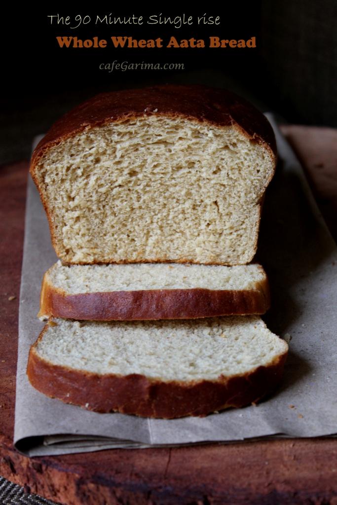 Single Rise Whole Wheat Bread
