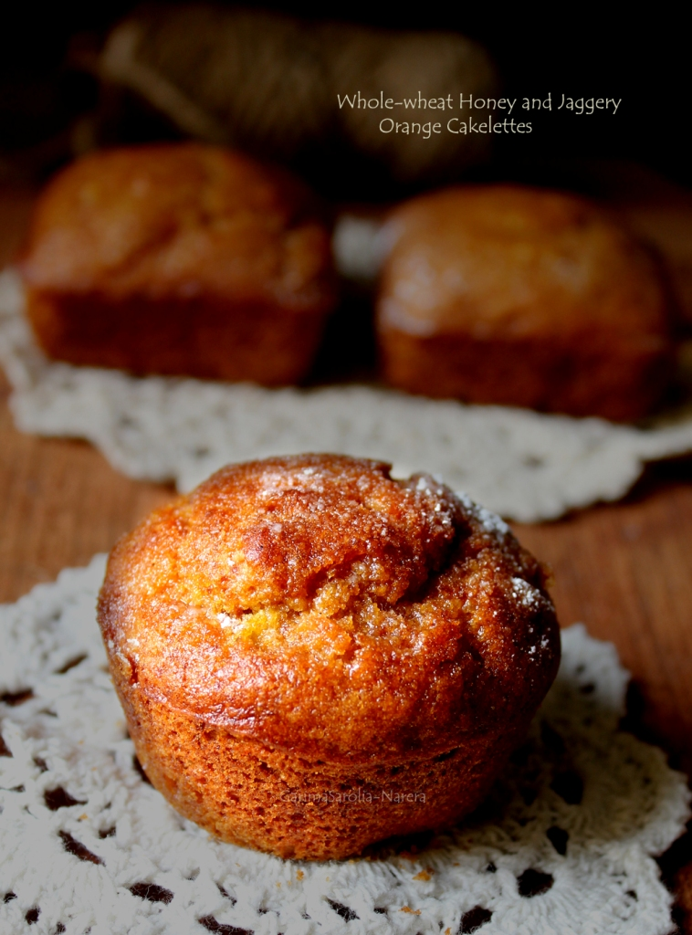 Wholewheat Honey and Jaggery Orange Cakelettes.jpg