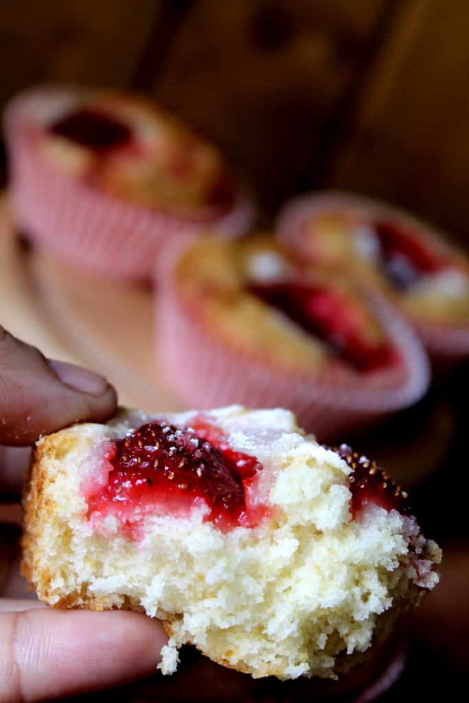 Fresh Strawberry and vanilla Jammy Cupcakes6.jpg