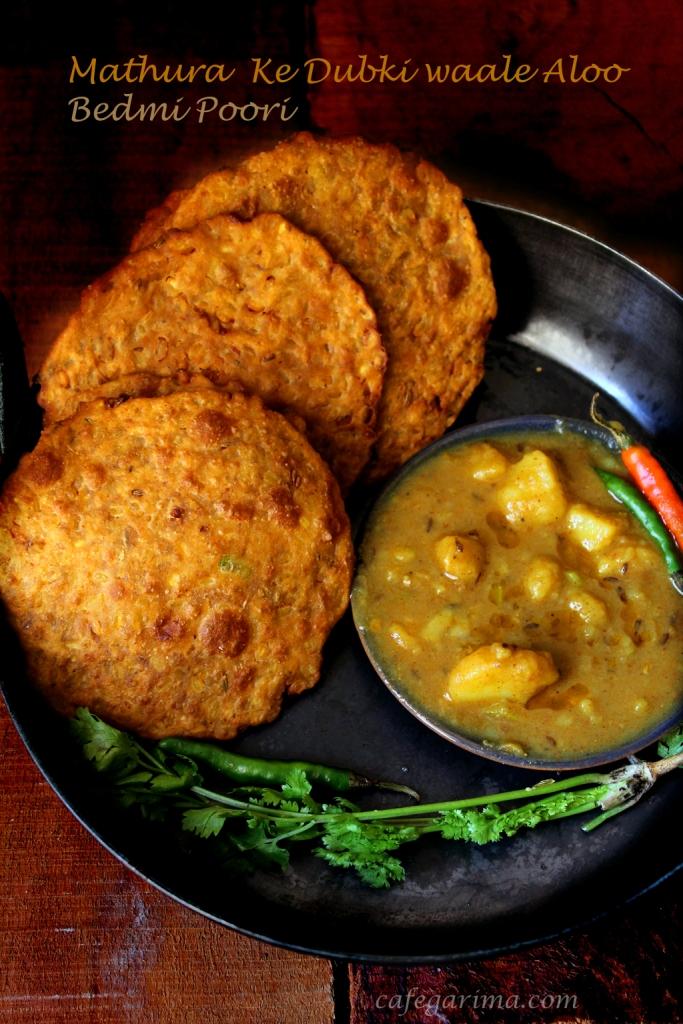 Mathura waale Aloo and Bedmi Poori.jpg