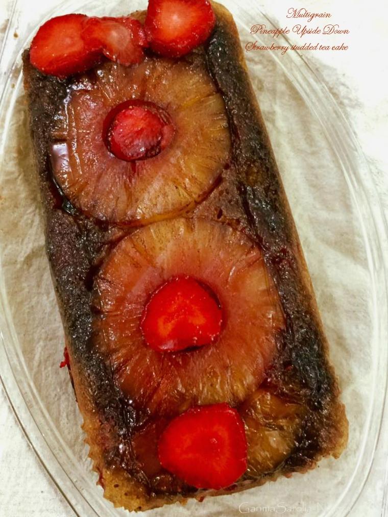 Multigrain Pineapple Upside Down Strawberry Cake.jpg