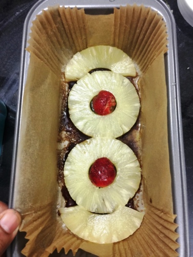 Pineapple Upside down cake 1
